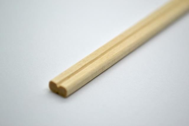 「割り箸」を「竹割り箸」に変えていきます!