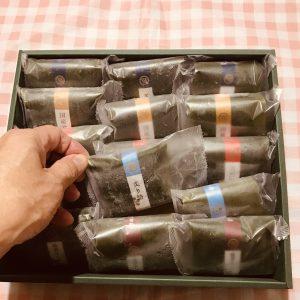 1個1個 個包装されて詰められております
